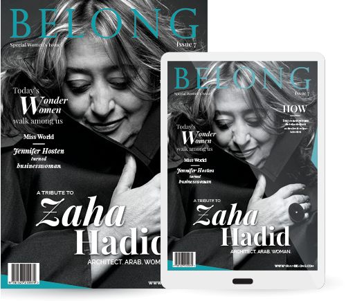 Belong magazine news cover digital lifestyle
