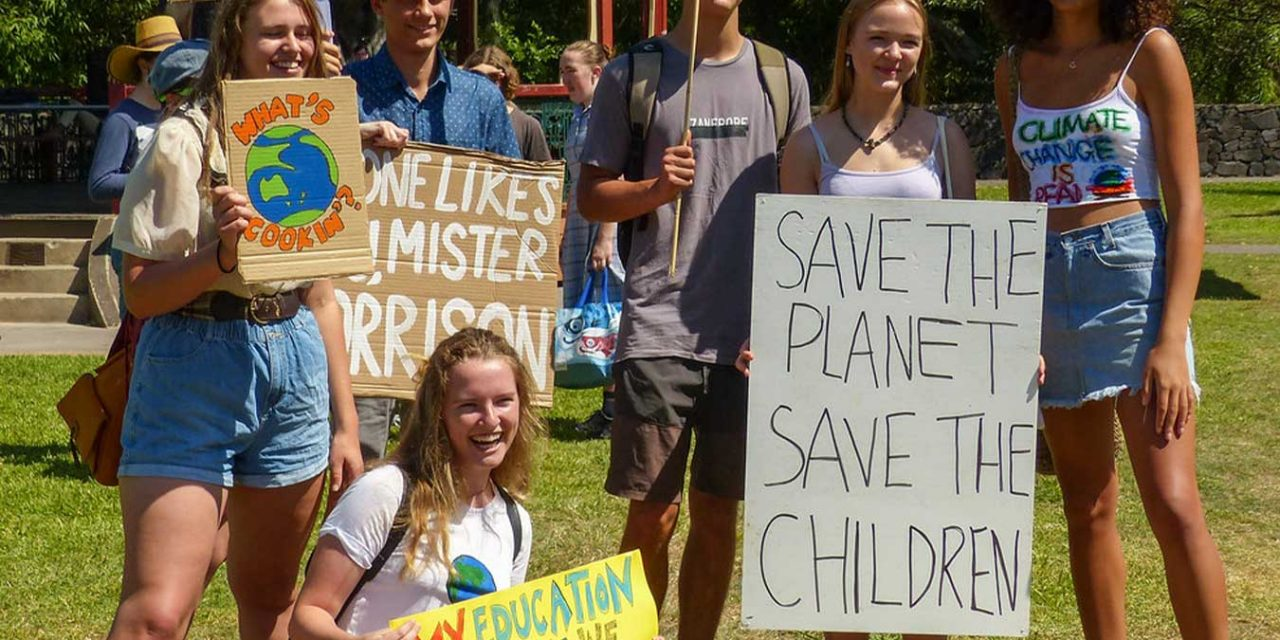 Climate Change Protest is Being Led by…….Kids