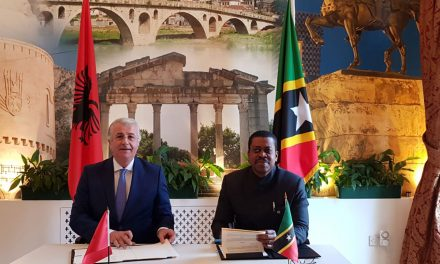 St Kitts and Nevis Signs Visa Waiver with Albania