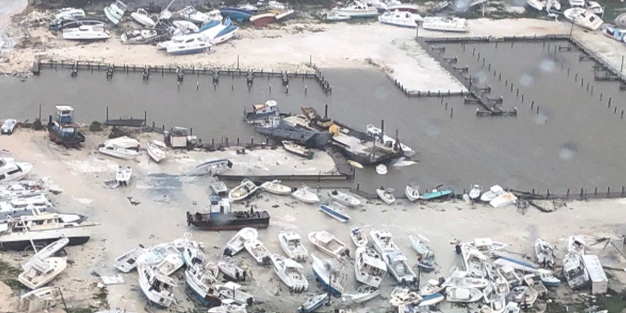 Hurricane Dorian Obliterates Northern Bahamas