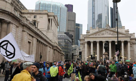 Extinction Rebellion Activists Arrested After Bank of England Protest