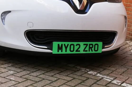 UK May Soon Introduce Green Number Plates for Electric Cars