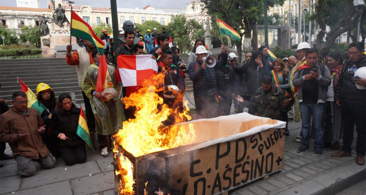 Bolivian President Resigns After Weeks of Protests