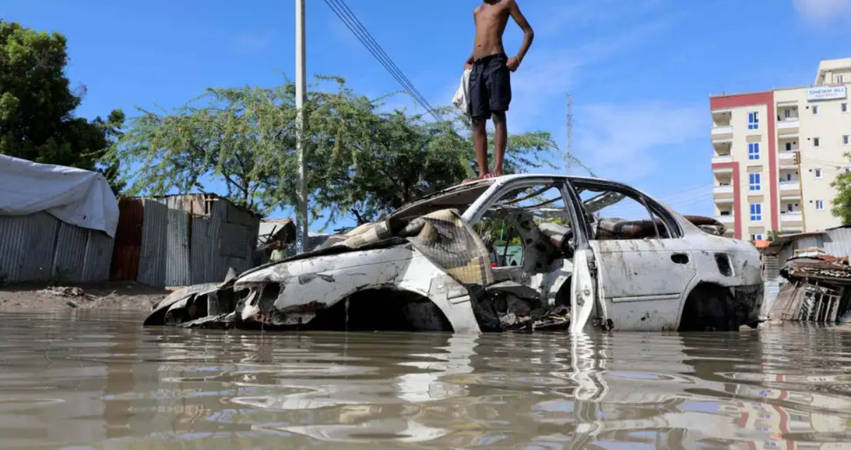Heavy Flooding in Somalia Leaves Thousands Displaced
