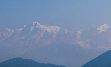 The Himalayas Are Visible for the First Time in Decades