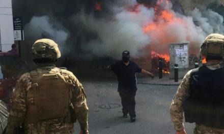 Riots Erupt in Lebanon