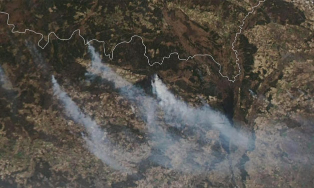 Wildfires Rage in Ukraine