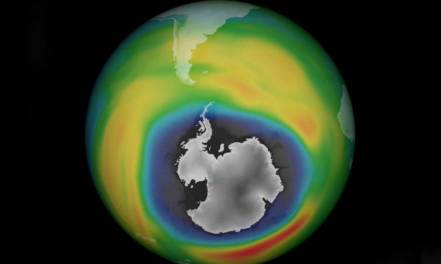 Ozone Hole Over Arctic Heals Itself