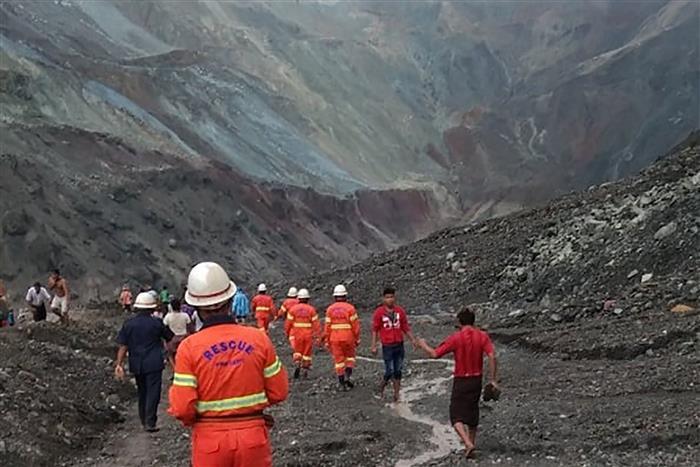 At Least 160 Dead in Myanmar Jade Mine Landslide