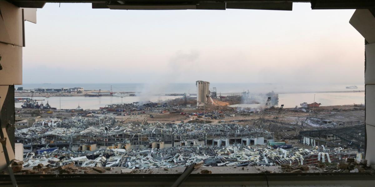 Devastating Explosion Rocks Port of Beirut