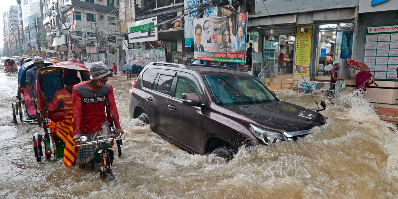 Catastrophic Flooding Hits Bangladesh: Up to a Third Underwater