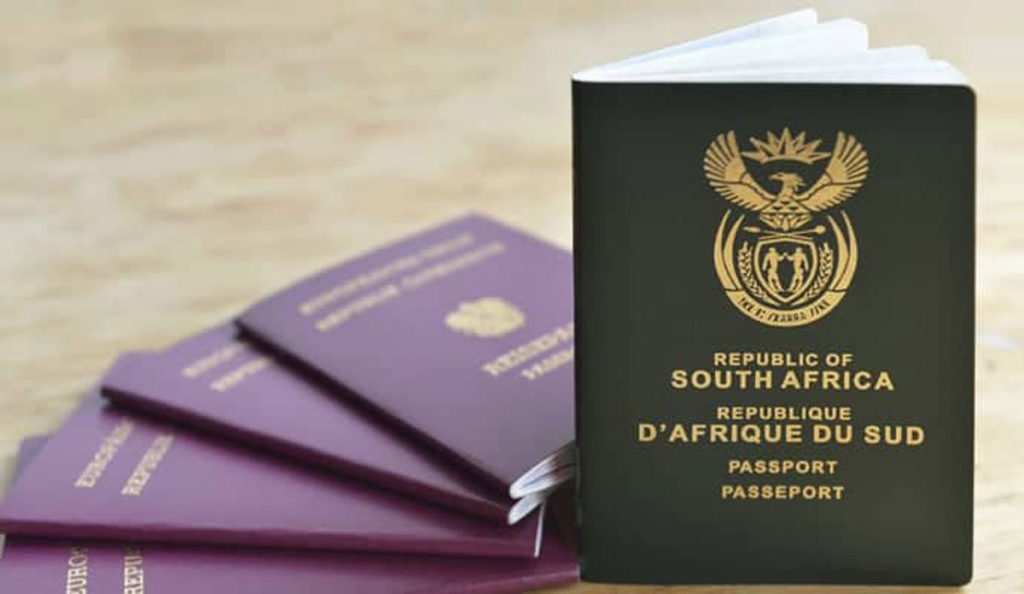 Truly Belong - South African Passport