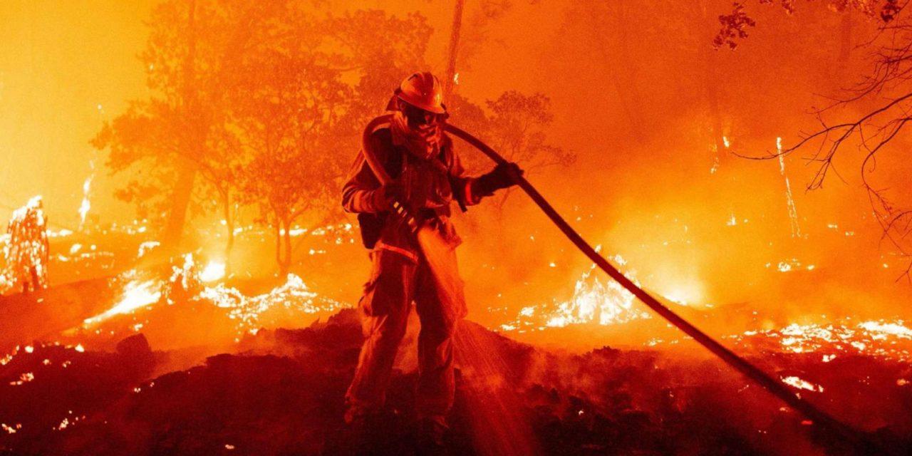 California Blazes Wreak Havoc