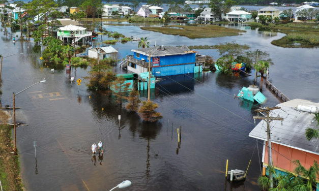 Florida and Alabama Battered With Hurricane Sally's 4 Months of Rain in 4 Hours