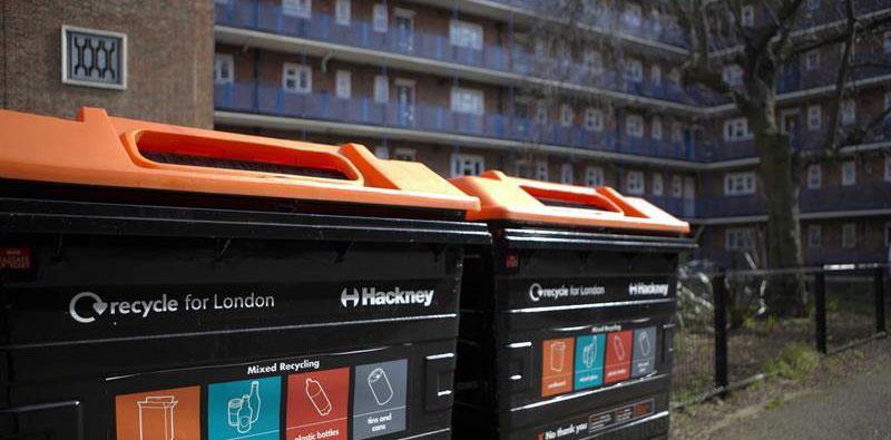 net-zero emissions, London, Recycling