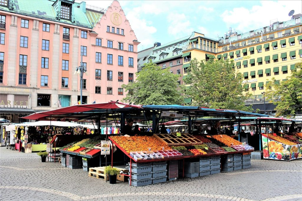 Stockholm, farmers market, sustainability,