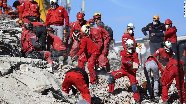Truly Belong - Rescue efforts in the aftermath of the earthquake in Turkey