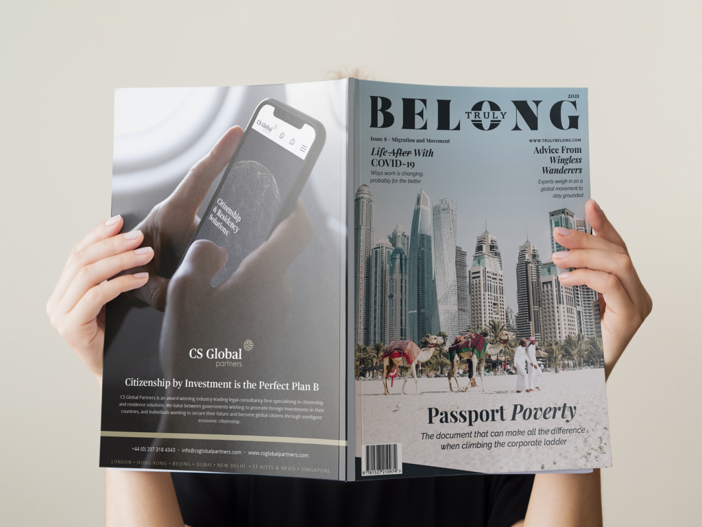 Truly Belong magazine - Migration and Movement Issue